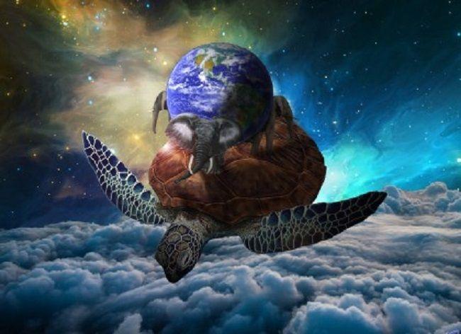 Kornjača se već dugo smatra nosilac svemira.