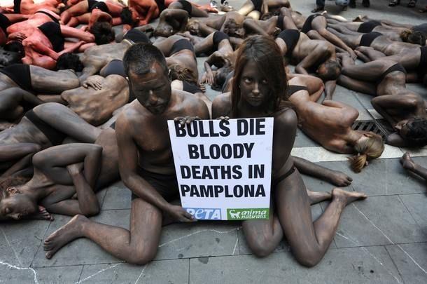 Akciju protiv španske borbe sa bikovima