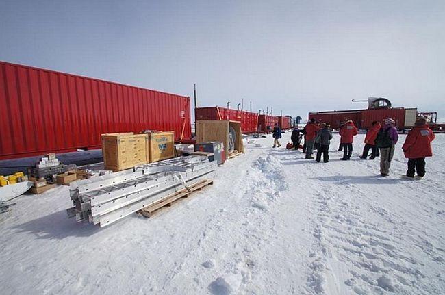 WISSARD baza projekta na jugoistoku rubu Ross Sea