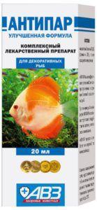 Antiparah akvarij