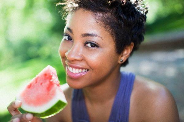 Арбуз хорошо влияет на здоровье сердца