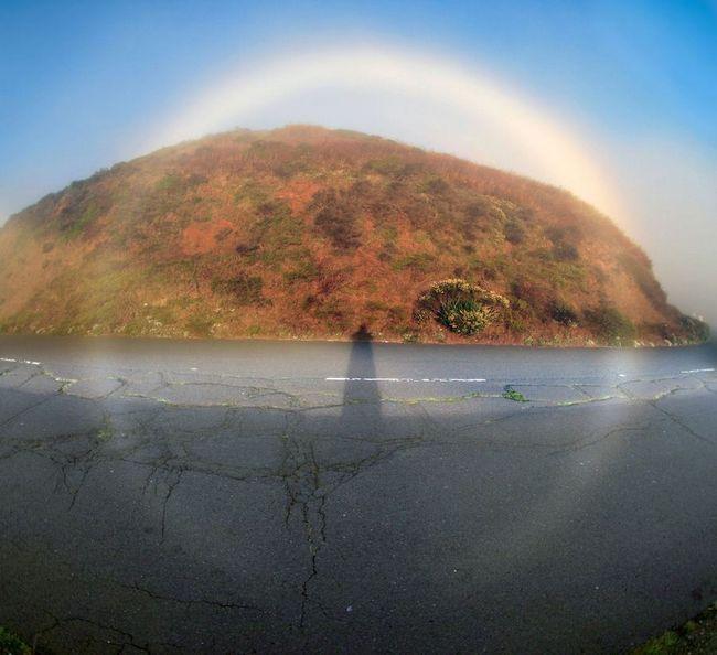 Misty rainbow (bijele duge magla luk)