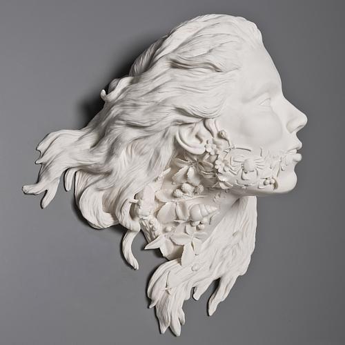 Čovjeka i prirode u farforovyhskulpturah Keith McDowell