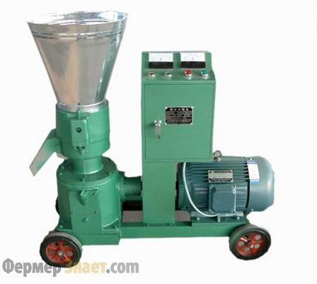 Granulátor pre výrobu krmivových zmesí