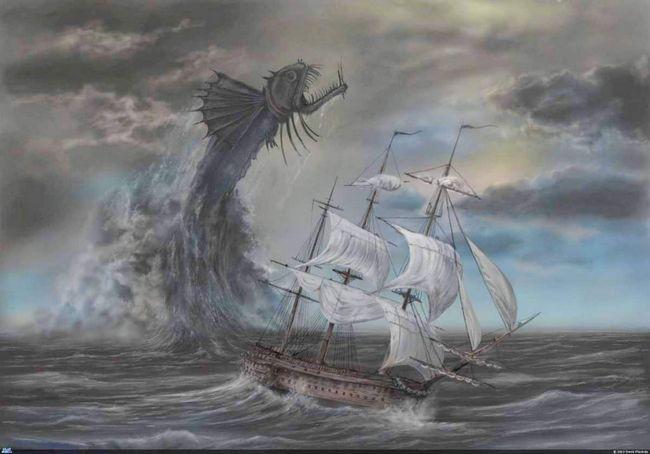 Ruski Sea Monsters: Karadag čudovište.
