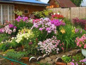 Prekrasna alternativni dizajn cvijet vrt