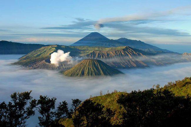 Aktivni vulkan Bromo u Indoneziji