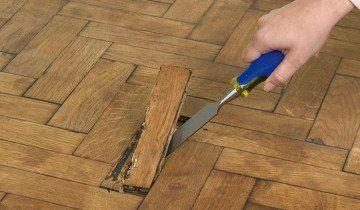 Oprava klenuté drevené podlahy, parket-like.ru