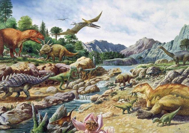 Postoji oko 500 vrsta dinosaurusa.