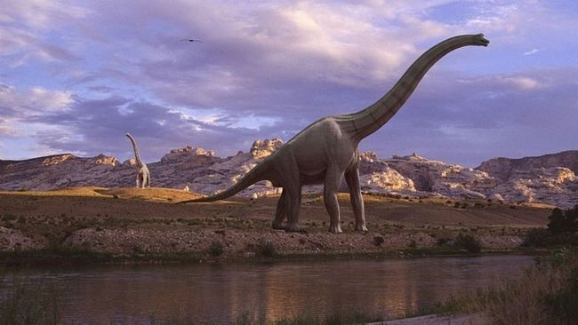Dinozavar Brachiosaurus.
