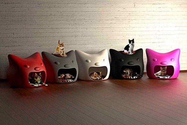 Dom mačka Kitty Meow Studio Mango