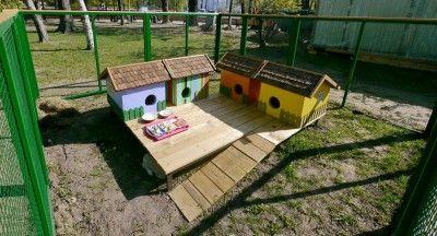 Домики для кроликов