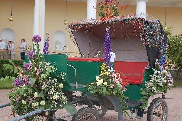 Strast za carice Marije Fjodorovna je bila osnova boja i ideja o održavanju festivala boja u Pavlovsk