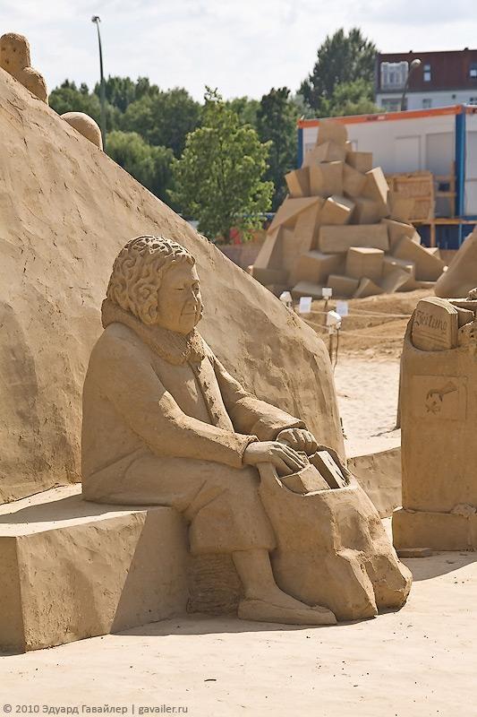 Sand Sculpture Festival 2010 v Berlíně