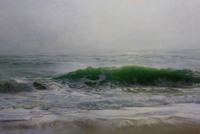 Hiper-realistične slike sa morski pejzaž umjetnika Matthew Cornell (Matthew Cornell)