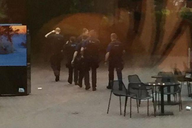 Zoološkom vrtu je izazvan naoružanih policajaca.