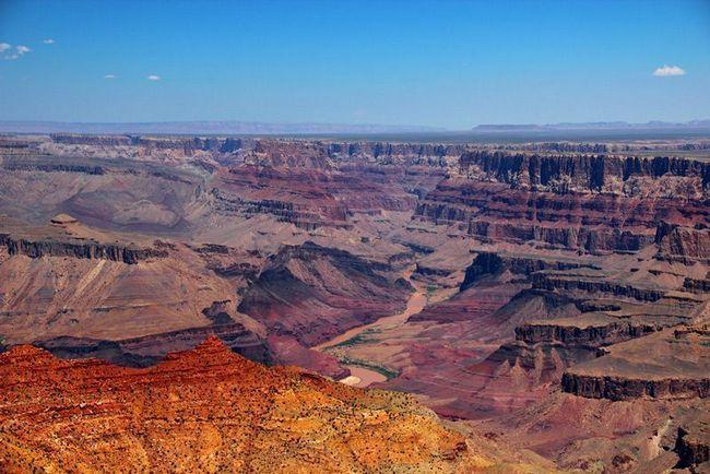 Гранд каньон — самый грандиозный кинотеатр живой природы