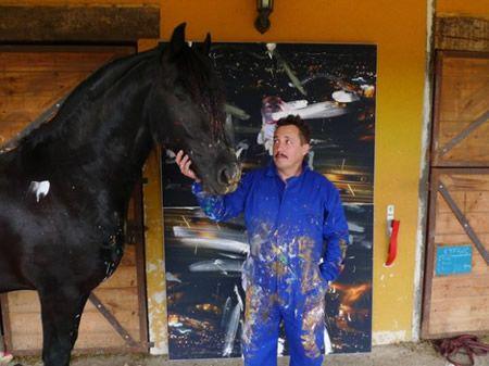 Art Napoleon konj remek izložene u Umjetničkoj galeriji
