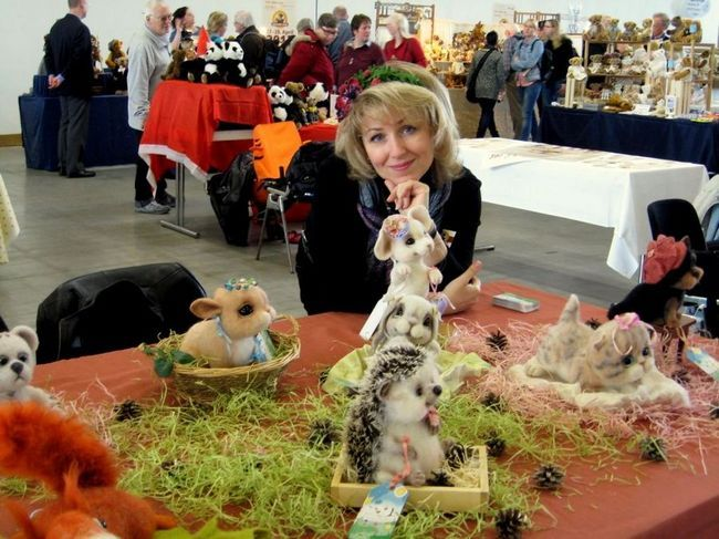 Igračke u umetnosti pustovanja suho Barakovoya Tatiana