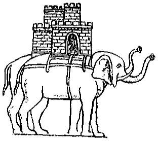 Индийский слон индийские боевые слоны