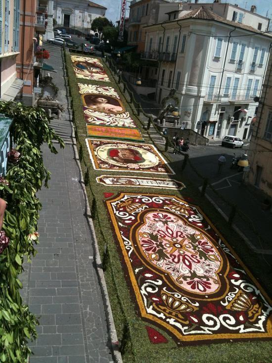 Infiorata - Festival cvijeća u Italiji