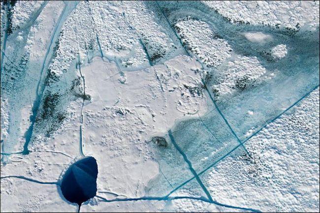 Evolucija glečera na Grenlandu