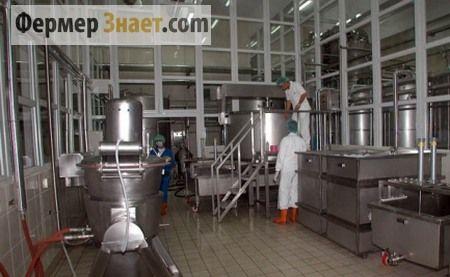 Priestor pre skladovanie mlieka