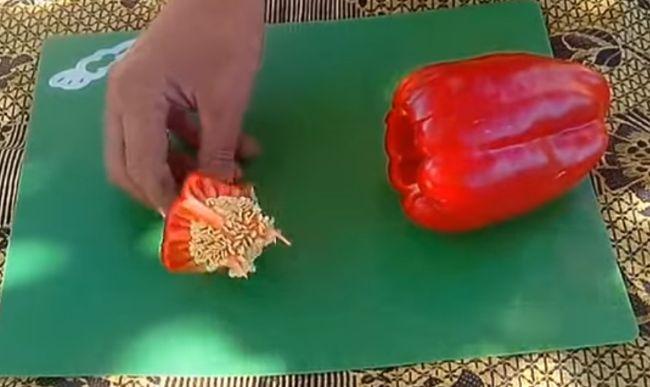 Как заготовить семена перца