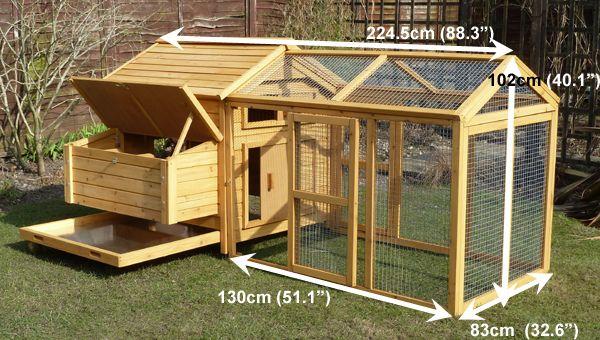 Монтаж домика для 5 курочек