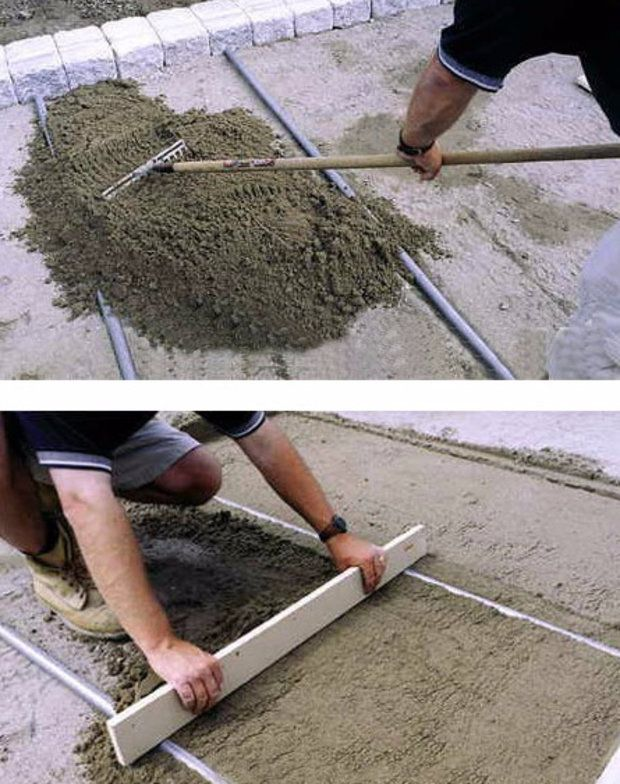 Podgotovlivaem jastuk ispod pločica