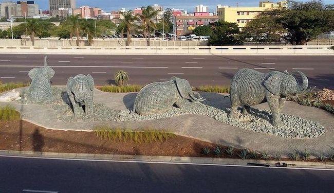 Kamen slonova Andris Botha (Andries Botha)