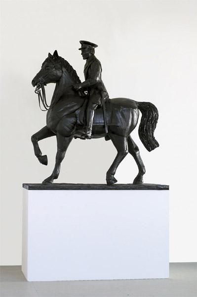 Kartona skulpture Chris Gilmour