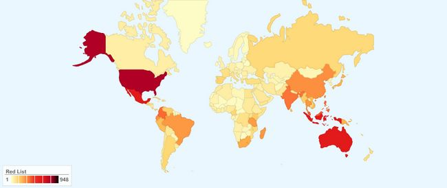Broj ugroženih vrsta