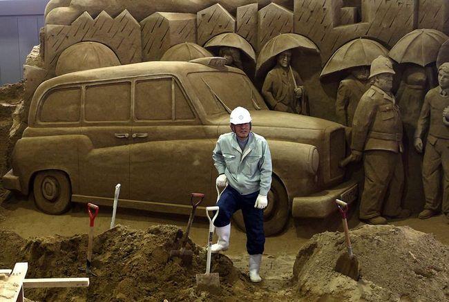 Pijesak Muzej skulptura u Japanu