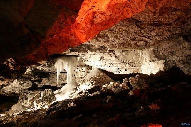 Kungur ledová jeskyně