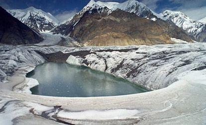 LednikiGimalaev topljenje zbog čađi i prašine