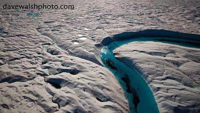 Topljenje arktičkog utjecaj leda na okeanima