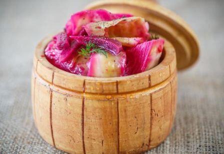 Pickle kupus za zimu, jednostavan recept