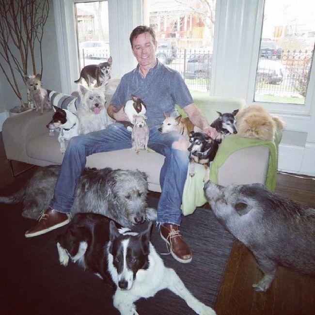 Čovjek koji živi sa 10 pasa i svinja