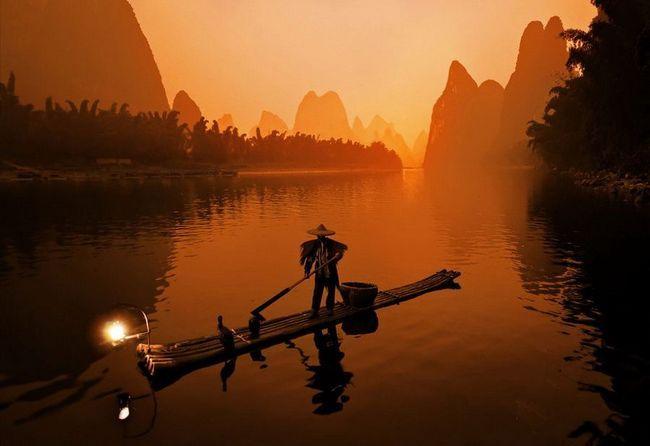 На рыбалку вместе с бакланом