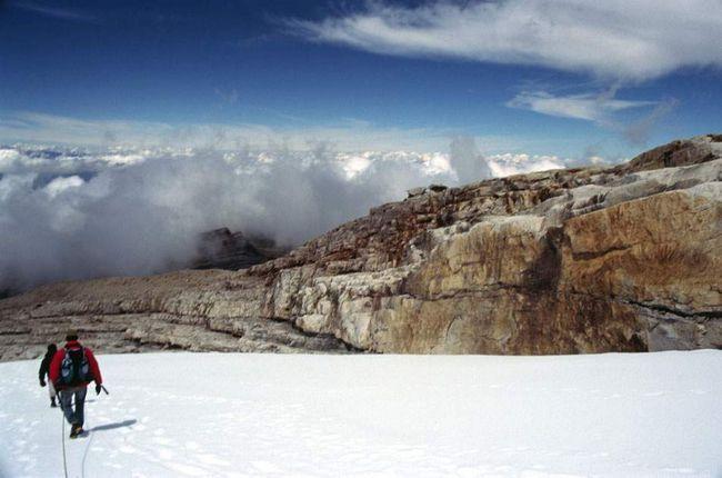 Na visini od 4,57 kilometara, dok se spušta sa vrha Ritakuba Blanco. Cocuy Nacionalni park je raj za penjače, ali na turističkom tržištu u Kolumbiji tek počinje da se razvija.