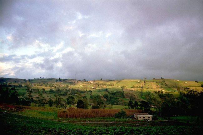 Sjeverno od Bogota, na putu do Cocuy, nalazi Boyac područje s bogatom poljoprivrednog zemljišta.