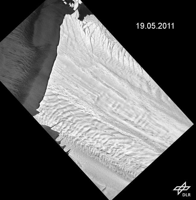 Vedro nebo dozvoljeno satelita Terra uhvatiti kvar 12. oktobar 2012 koristeći MODIS instrumenta. (Slika NASA Goddard MODIS Rapid Response Team).