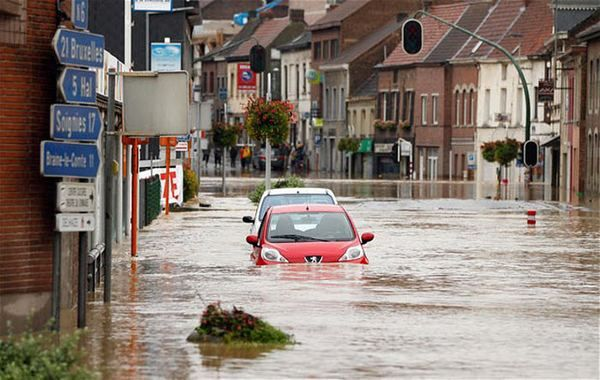 Poplave u Belgiji