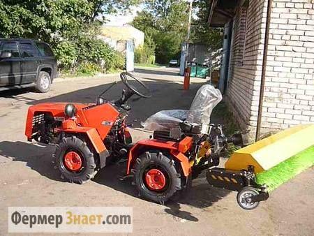 Traktor sa komunalnih objekata