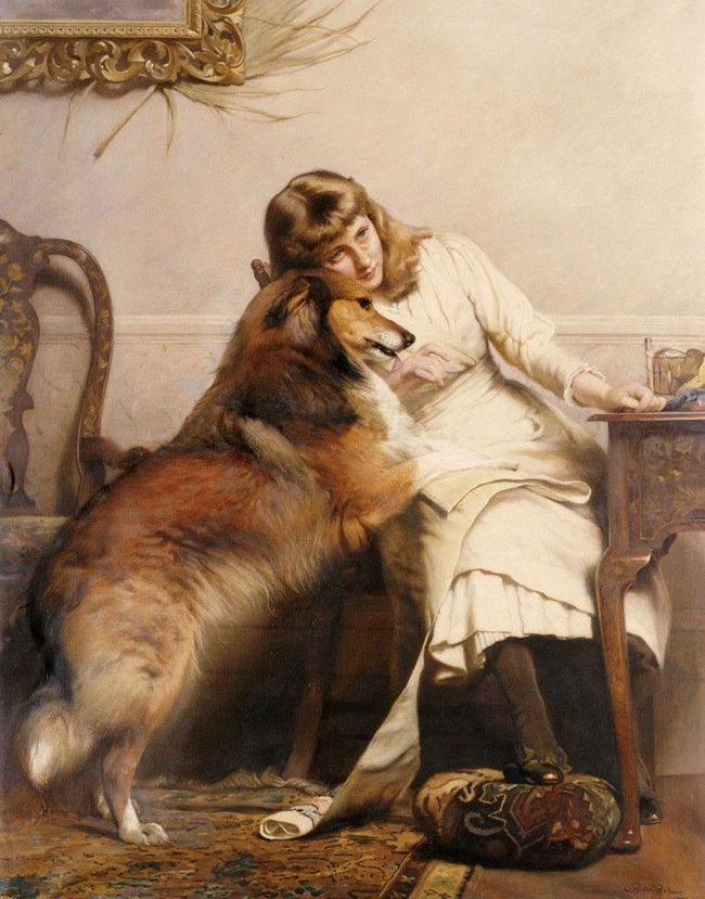 Povremena životinja slikar Charles Burton Barber (Charles Burton Barber)