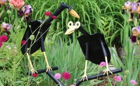 Новые поделки для сада своими руками с фото