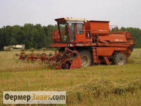 Don kombajn vršidbu pšenice u 1500