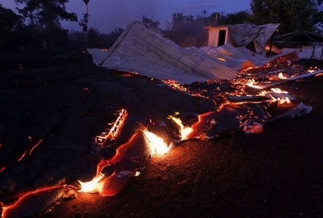 A vatreni potok Kilauea vulkana