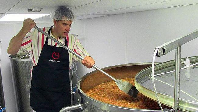 Omerto - vino proizvedeno od zrelih paradajza